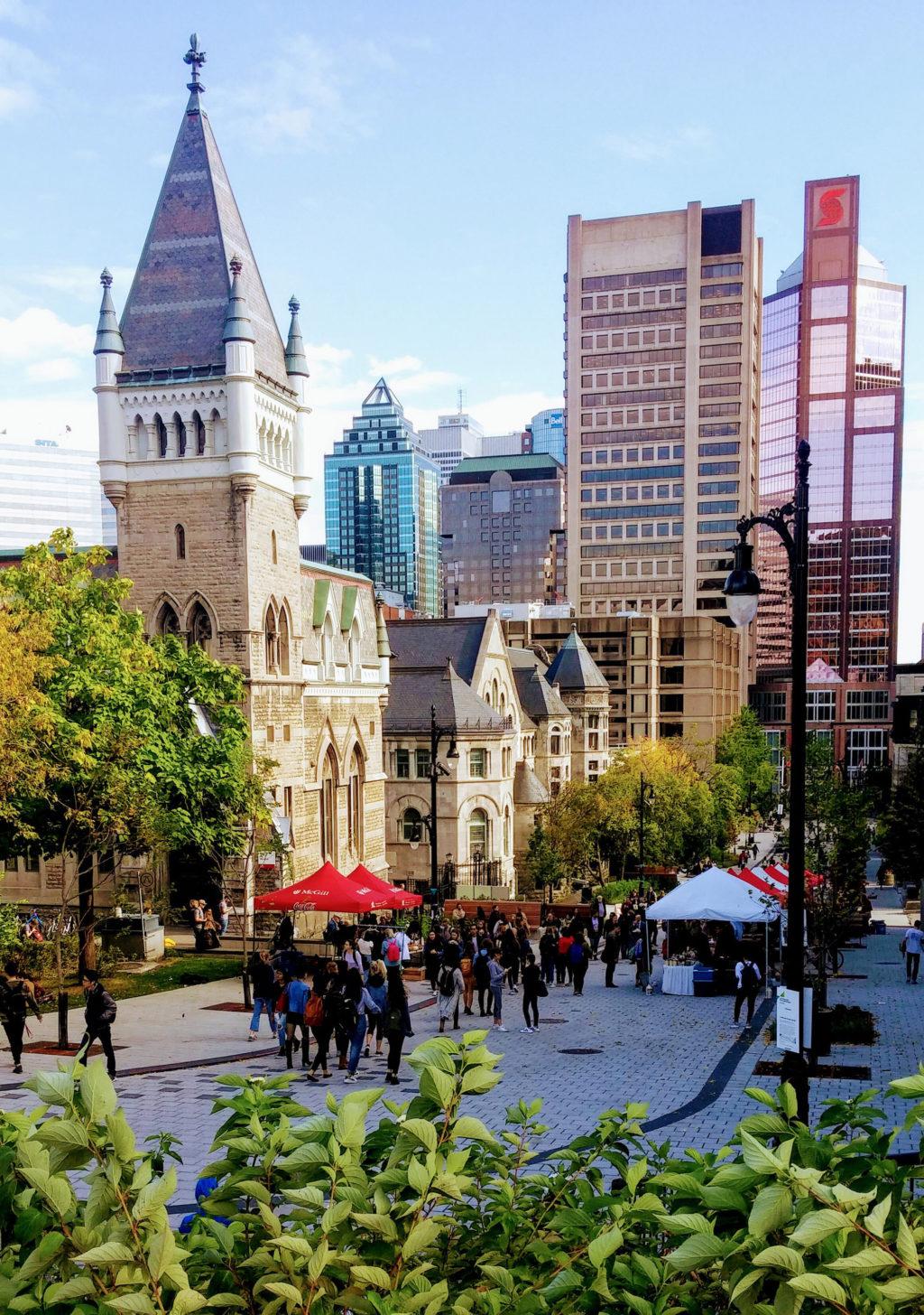 McGill University Campus Photo